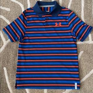 Boys Under Armour Golf Shirt
